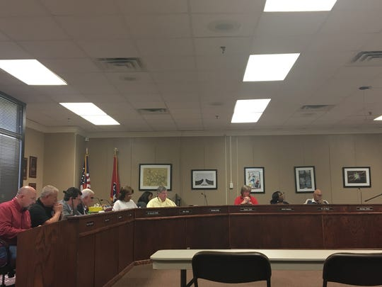 The Jackson-Madison County School Board met Thursday,