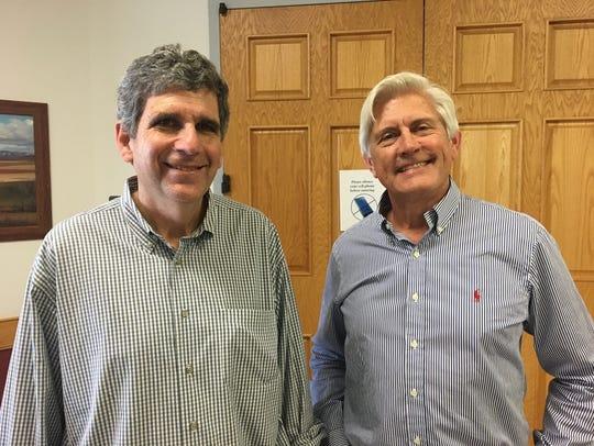 Dan Gecker and Robin Miller, of the Village Development