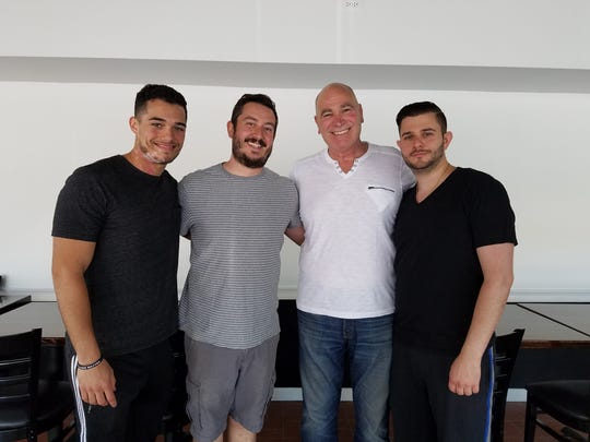From left to right: Owners Jack Santos, Josh Agnello, Jack Dugo and Robert Dugo.