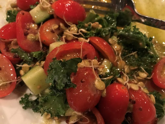 Superfoods salad at The Oyster Society