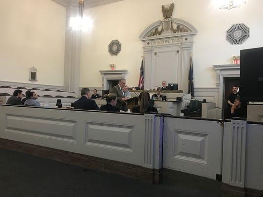 Defense attorney Joseph Joch gives closing statements