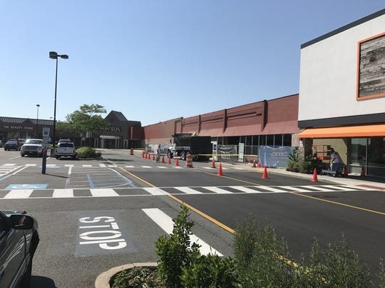 The former A&P store is being renovated for new tenants that will include Michaels.
