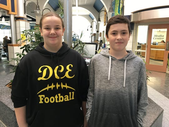Seventh-graders Zoe Sepersky and Garrison Peak finished 28th in the Wisconsin Mathematics League Contest.