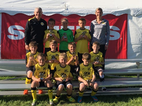 MC United Rogue (U11B) earned second place  at the Scheels Flatgrass Regional Tournament in May in Neenah.