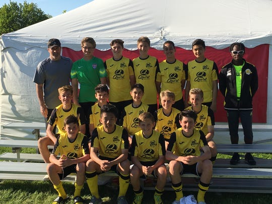 MCU Galacticos finished second at the Scheels Flatgrass Regional Tournament in May in Neenah.