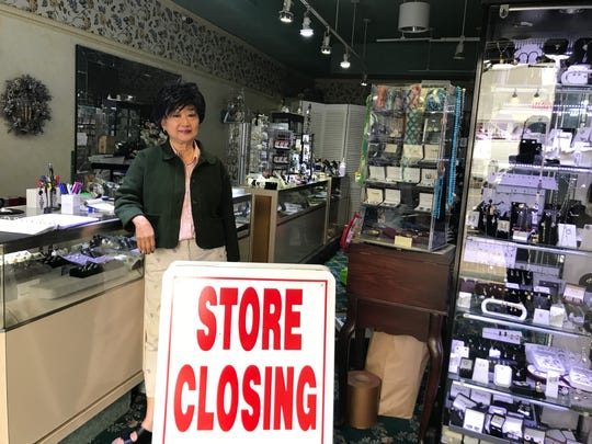 Shirley Wang, the owner of Rose Garden Jewelers on South Moger Avenue in Mount Kisco, is holding  a closing sale, saying that the retail world is changing too rapidly for her to keep up.