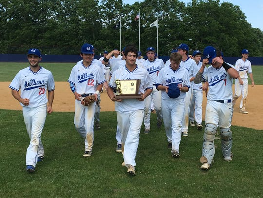 It took the whole team, but Millburn emerged from Toms