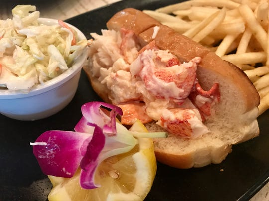 A classic lobster roll from Lobster Lady in Cape Coral. The restaurant expanded and turned 5 this year.