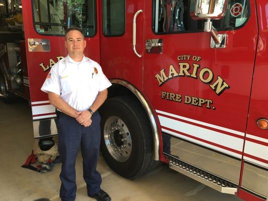 Marion City Fire Chief Chuck Deem