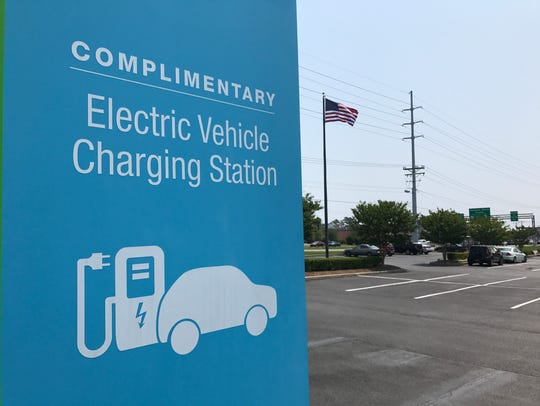 As more electric vehicles visit the beaches, local