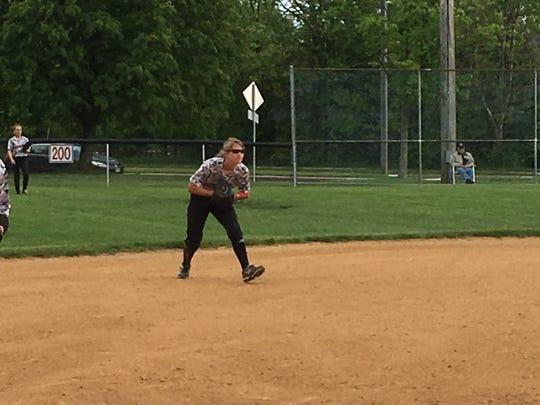 Bernards shortstop Caroline Baratta