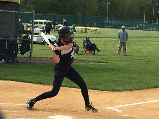 Bridgewater-Raritan center fielder Katie Winchock