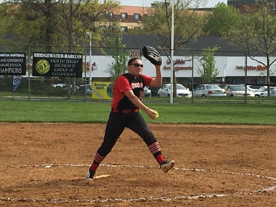 Hunterdon Central pitcher Kylie Gletow