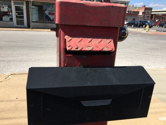 """Answer Man: The man who manages this parking lot says that the reason why there are sometimes no envelopes in the mailbox is because people steal them -- """"so they can say there weren't any envelopes."""""""