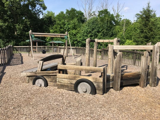 Officials want to make sure the new playground has something to attract youngsters of any age.
