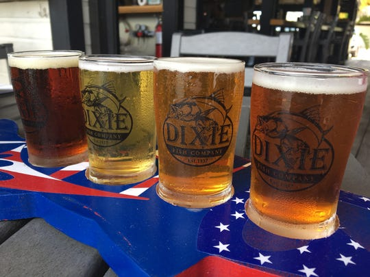 The Dixie Fish Co. offers nine Florida microbrews on tap.