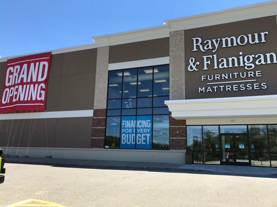 The Raymour & Flanigan store in Kinnelon opened in 2017.