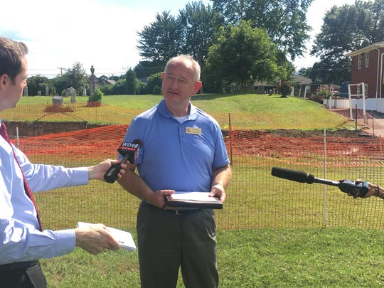 Clarksville Town Manager Kevin Baity discusses the