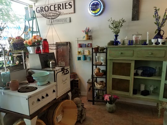 Timeless Treasures sells refurbished furniture and other upcycled goods in downtown Gallatin.