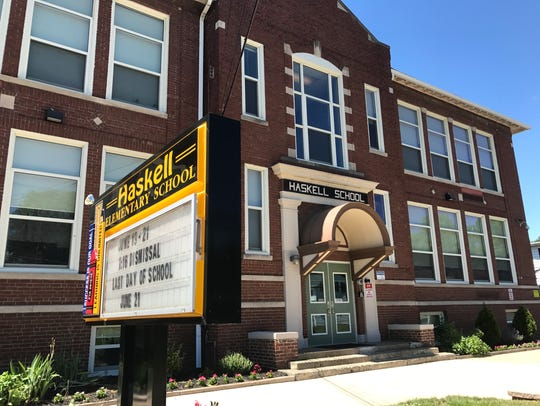 Haskell School in Wanaque, where a former student wandered