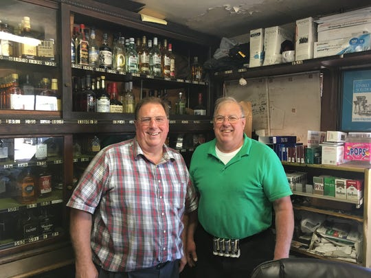 Bern Dusing, left, and Ron Dusing are the third generation to run Dusing Bros.