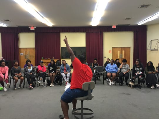 Students visit ASU for the Camp 3T theater summer camp.