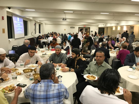 An interfaith Iftar dinner on June 20 at the Jam-e Masjid Islamic Center in Boonton was attended by about 100 people.