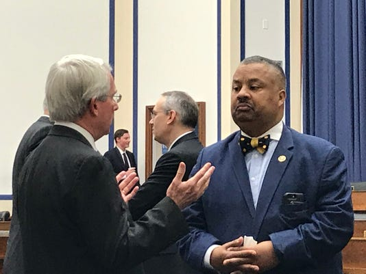 Amtrak CEO Moorman and Rep Donald Payne