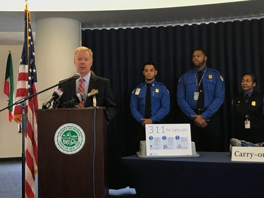 TSA Federal Security Director for upstate New York,