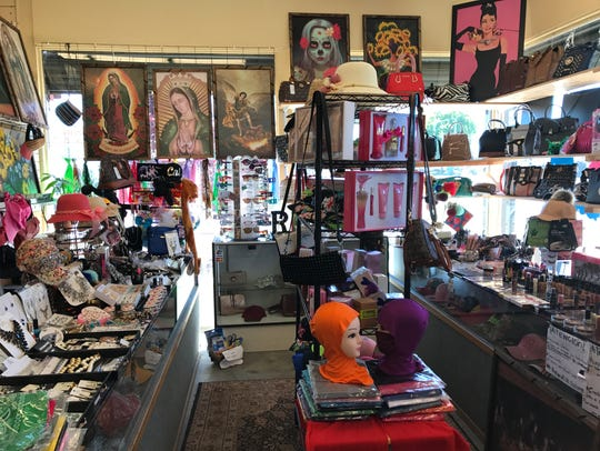 One of the stores inside Mercadito Alegria at 727 East