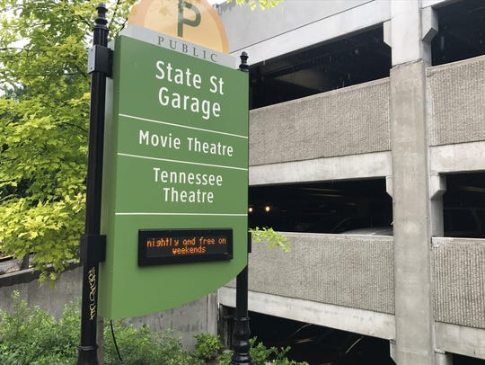 The city is asking drivers to check signs at State Street Garage for space availability before pulling in during construction.