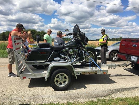 Shelby motorcycle crash