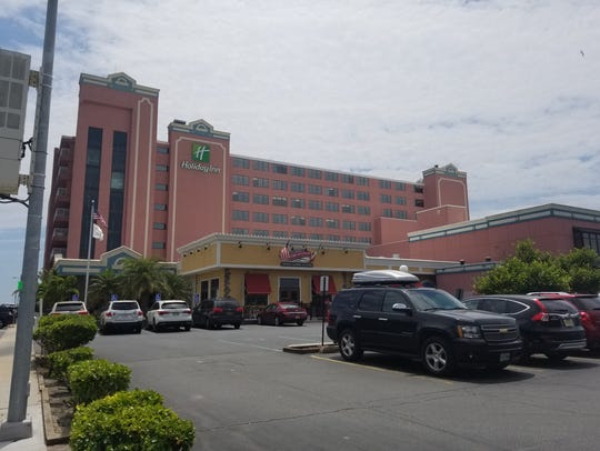 The Holiday Inn at 66th Street in Ocean City.