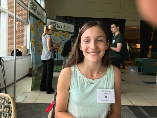 Incoming Binghamton University trtasfer student Rebecca