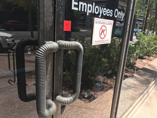 The Republic installed new handles to avoid burning