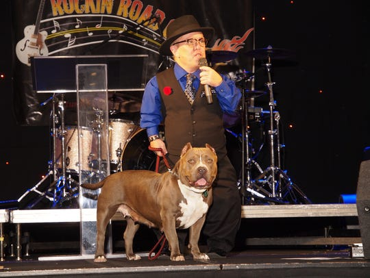 Shorty Rossi, a nationally known pit bull advocate.