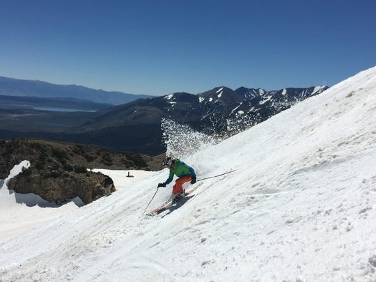 There's enough snow at Mammoth Mountain Resort for