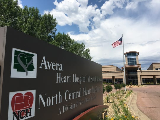 Avera Heart Hospital in Sioux Falls.