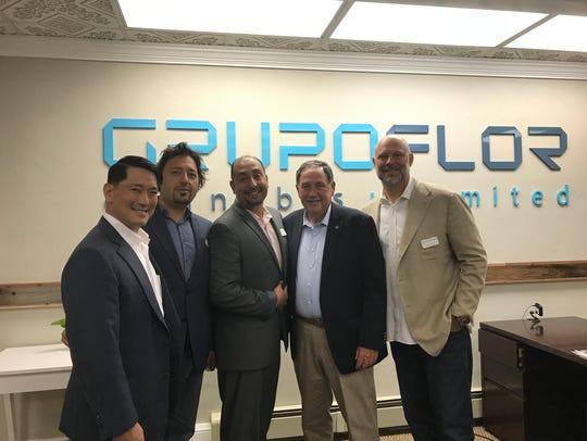 Key management at Grupo Flor with Salinas Mayor Joe