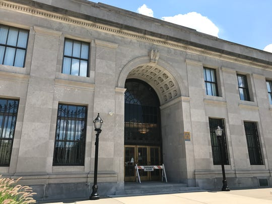 The Bergen County Courthouse in Hackensack.