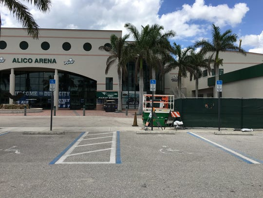 Phase I of FGCU's Alico Arena expansion is scheduled