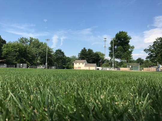 New Milford's Kennedy Field, the site of a proposed