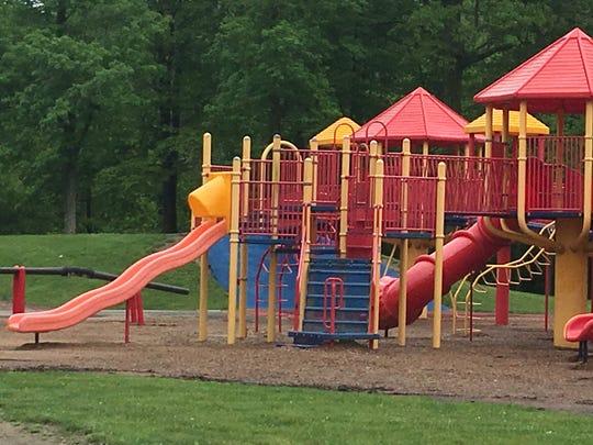 A playground in Glen Miller Park.