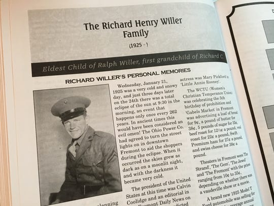 Richard Willer of Lindsey wrote about his experiences
