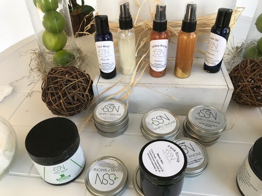 Simply Simone Naturals products features organic and