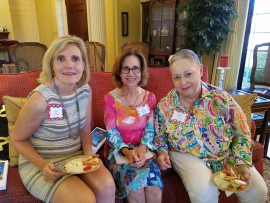 Mary Hime of South Texas Money Management (from left),