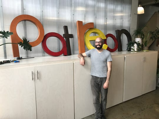Jack Conte, the co-founder of Patreon, at the company