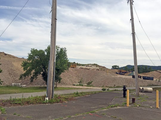 Holt Drive in Stony Point on July 6, 2017 is the site where a new Planet Energy has proposed building a recycling plant in the coming years.