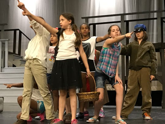 "City dwellers in Gas Lamp Juniors' ""Annie Jr."" include,"