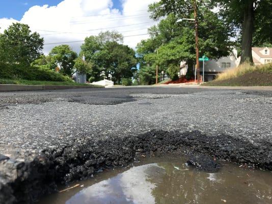 Dwas Line pothole